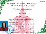 Ausbildung in fortgeschrittener medizinischer Thaimassage